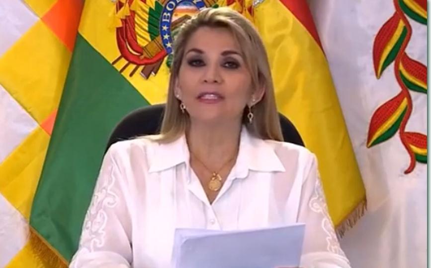 Presidenta Jeanine Áñez promulga la Ley para las elecciones del 6 de septiembre