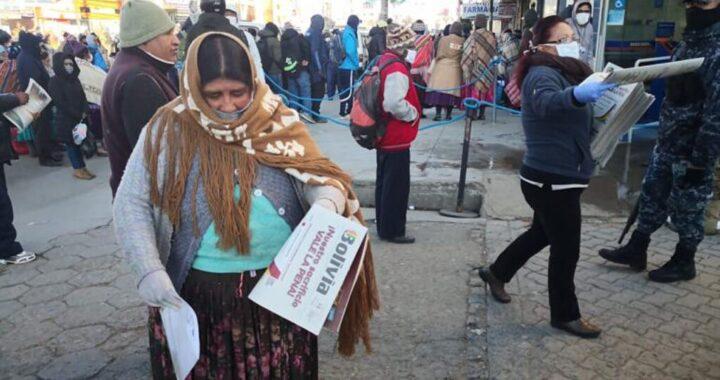 COVID19 AHONDA CRISIS DE MEDIOS IMPRESOS EN BOLIVIA