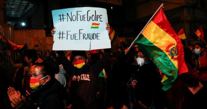 ¿Fraude o golpe de Estado? Bolivia atrapada en la polarización