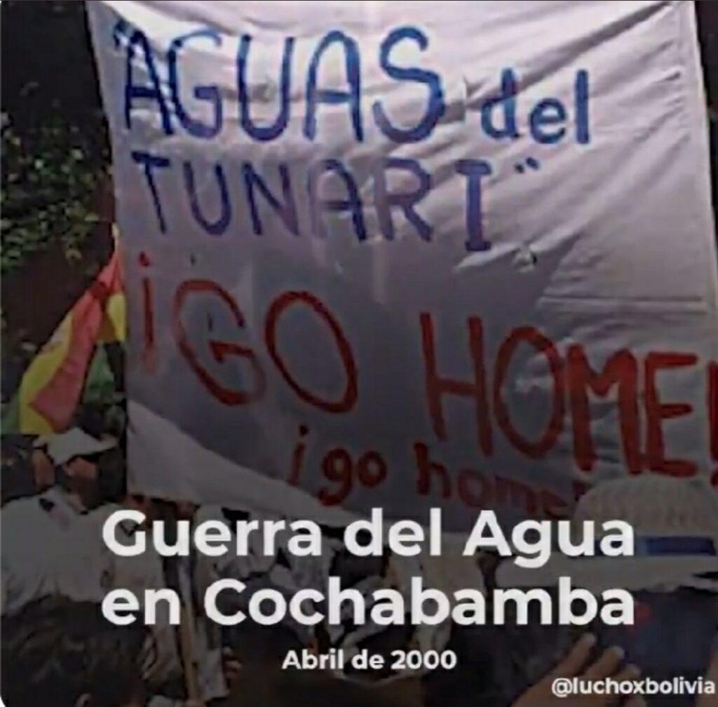 Arce Catacora, recordó el triunfo del pueblo en la «Guerra del Agua»