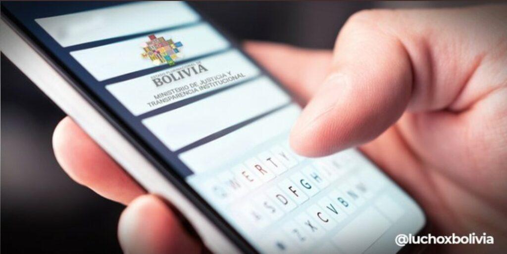 Ministerio de Justicia pone en vigencia el formulario electrónico para denuncias de corrupción