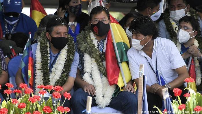 Luis Arce y Evo Morales: no permitirán otro golpe de Estado