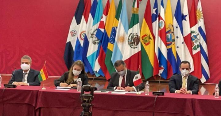 Firman Bolivia y México  convenio de cooperación internacional en lucha contra el lavado de activos y financiamiento al terrorismo