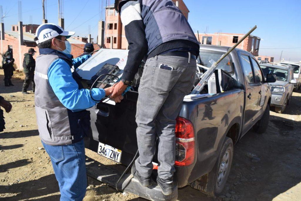 En El Alto ATT interviene radioemisoras ilegales