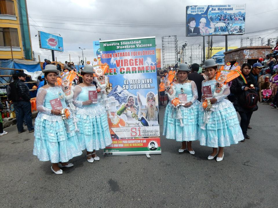 Retornó festividad folclórica en Bolivia pese al COVID-19