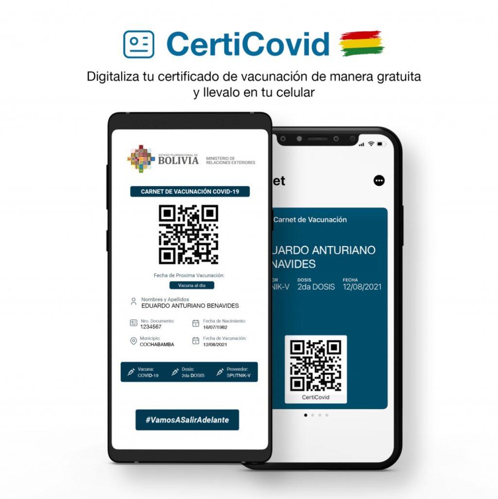 Jóvenes emprendedores crean CertiCovid que permite digitalizar el certificado de vacunación de manera gratuita y llevarlo en un dispositivo móvil