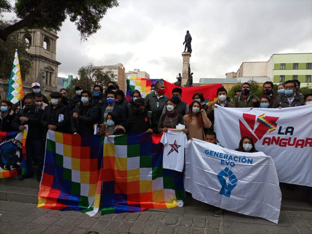 Coordinadora de organizaciones, colectivos y bloques urbanos de La Paz y El Alto declaran estado de emergencia ante acciones de desestabilización