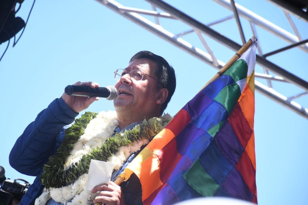 Arce Catacora: Ayer, el pueblo boliviano, sabio como es, nos dio claramente la señal entre parar versus trabajar