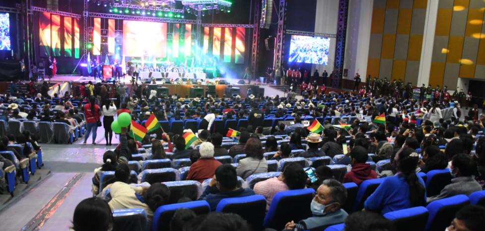 En Oruro se inauguró el Teatro Internacional